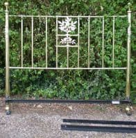 Victorian Style Brass Double Bed